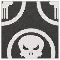 Punisher Skull Icon Fabric