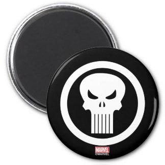 Punisher Skull Icon Magnet