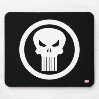 Punisher Skull Icon Mouse Pad