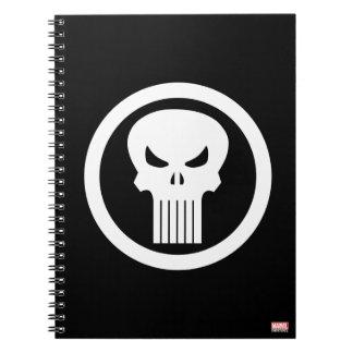 Punisher Skull Icon Notebook