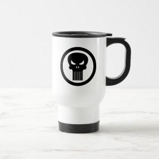 Punisher Skull Icon Travel Mug
