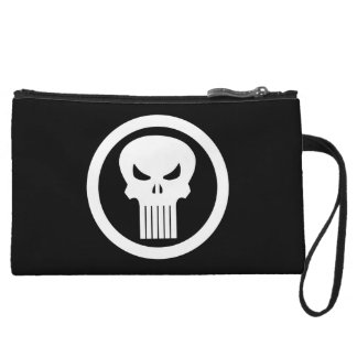 Punisher Skull Icon Wristlet