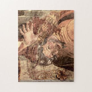 punishing the Levites -Botticelli - Sistine Chapel Jigsaw Puzzle