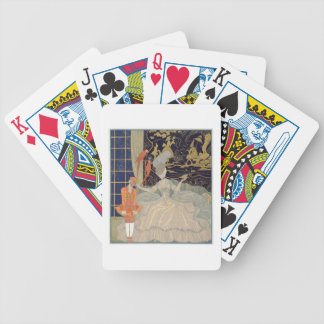 Punishing the Page (colour litho) Bicycle Playing Cards