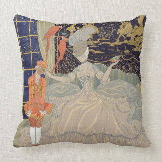 Punishing the Page (colour litho) Pillows