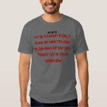 punishment of god, genghis khan T Shirt