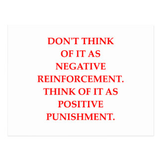 PUNISHMENT POSTCARD
