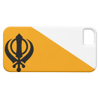 Punjab Sikh Holy Flag Sikhism Nishan Sahib iPhone SE/5/5s Case