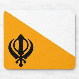 Punjab Sikh Holy Flag Sikhism Nishan Sahib Mouse Pad