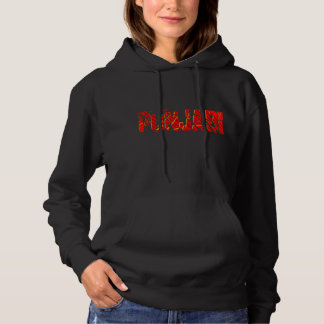 punjabi in red and gold hoodie t-shirt design