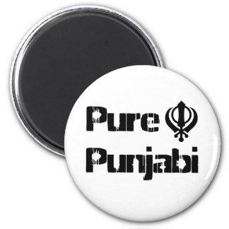 Punjabi Khanda Sikh Khalsa Design Merchandise Magnet