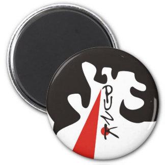 Punk 2 Inch Round Magnet