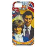 Punk 80' del vintage Charles y Di que se casan sro iPhone 5 Carcasa