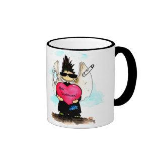 Punk angel - Hab´ confidence Ringer Mug