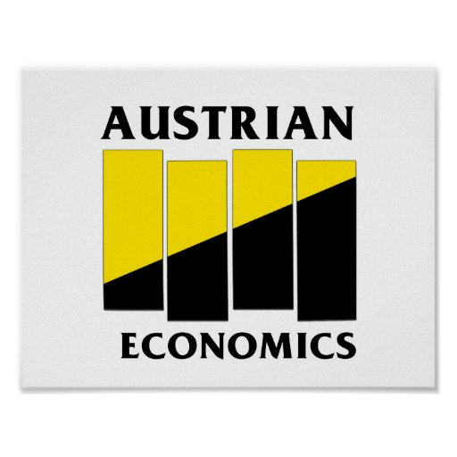 Punk austríaco de la economía póster