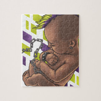 punk baby jigsaw puzzle
