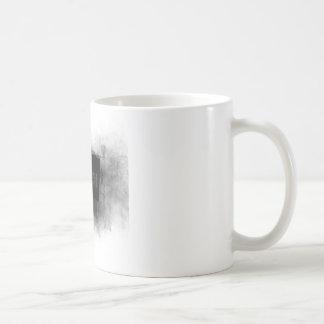 Punk black and white coffee mug