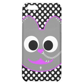 Punk Boy Kat Purple - Gray iPhone 5C Cases