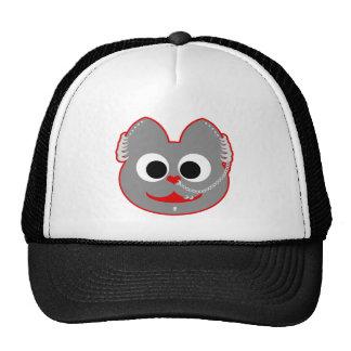 Punk Boy Kat Red - Gray Trucker Hat