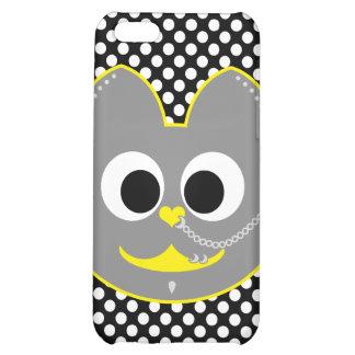 Punk Boy Kat Yellow - Gray iPhone 5C Covers