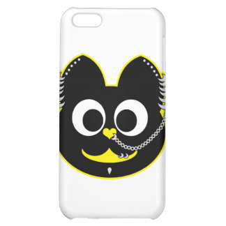 Punk Boy Kat Yellow Case For iPhone 5C