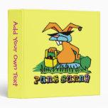 Punk Bunny Avery Binder 3 Ring Binders
