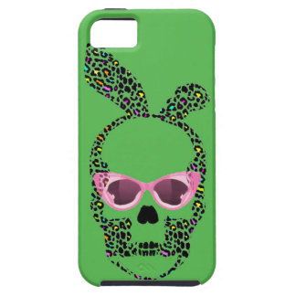 Punk Bunny Ears Skull iPhone Case iPhone 5 Cover