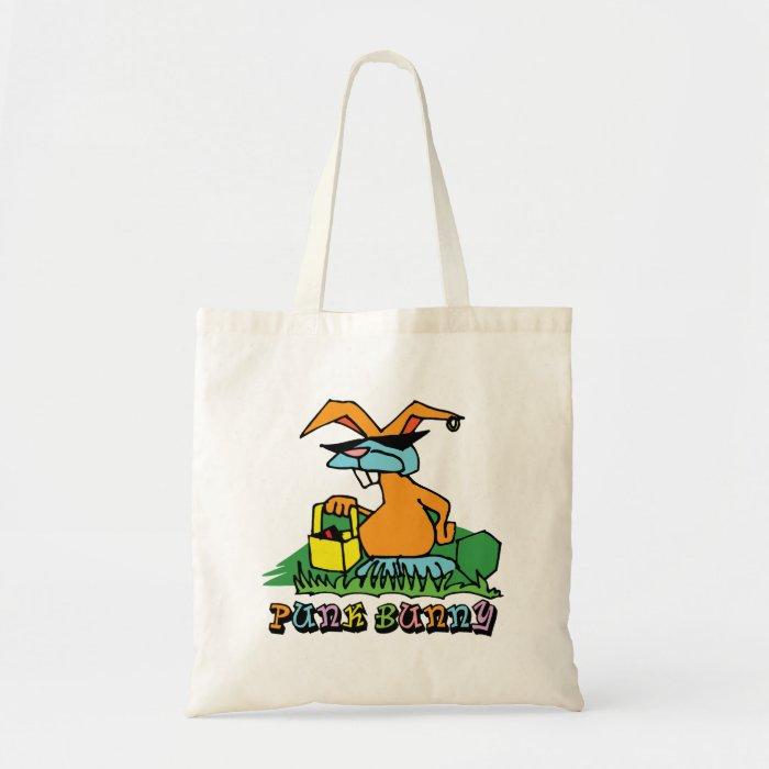 Punk Bunny Tote Bag