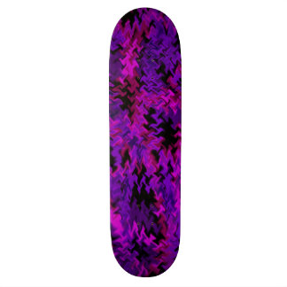 punk camo fury skateboard