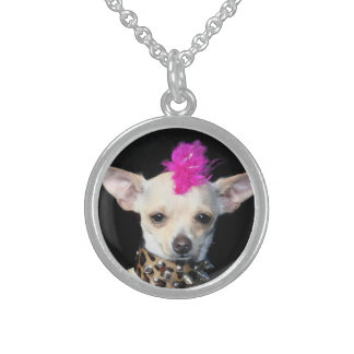 Punk Chihuahua Sterling Silver necklace