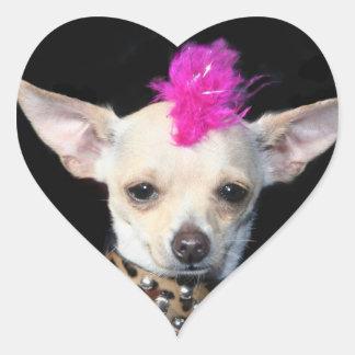 Punk Chihuahua Stickers