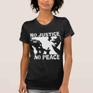 Punk del anti-capitalista de la camiseta del