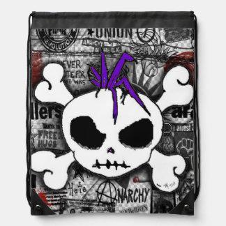 Punk del cráneo mochila