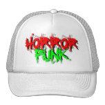 Punk del horror gorros bordados