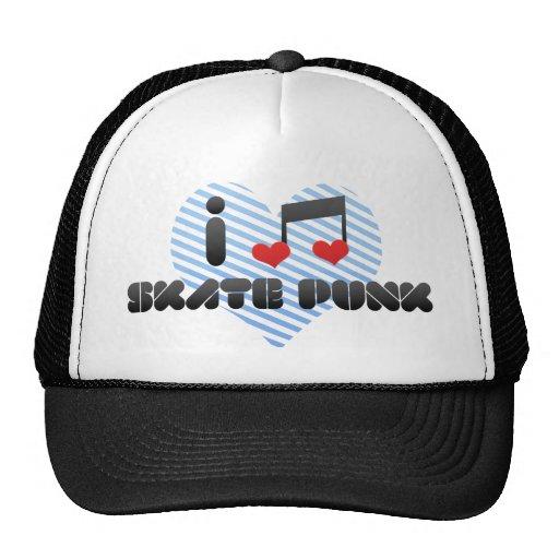 Punk del patín gorras de camionero