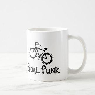 Punk del pedal taza