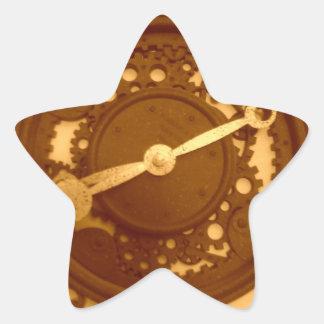 Punk del vapor inspirado colcomanias forma de estrella