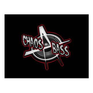 Punk Dub Electro Drum and Bass Hip-hop Dubstep Postcard