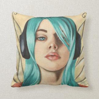 Punk Fairy Art Faerie Pillow Music Faery Pillow