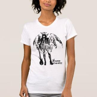 Punk Fairy band 80s style custom made white t-shir T-shirt