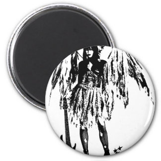 Punk Fairy clothes for adults and children 2 Inch Round Magnet