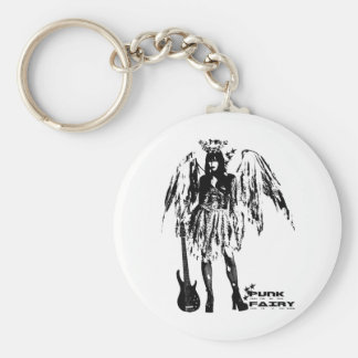 Punk Fairy clothes for adults and children Basic Round Button Keychain