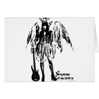 Punk Fairy clothes for adults and children Card