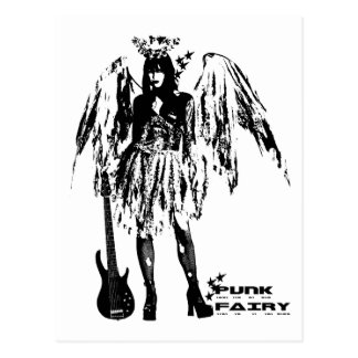 Punk Fairy clothes for adults and children Postcard