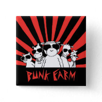 Punk Farm button