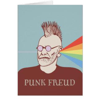 Punk Freud Card