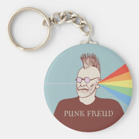 Punk Freud Keychain