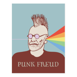 Punk Freud Postcard