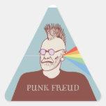 Punk Freud Triangle Sticker