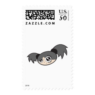 Punk Girl Black Postage
